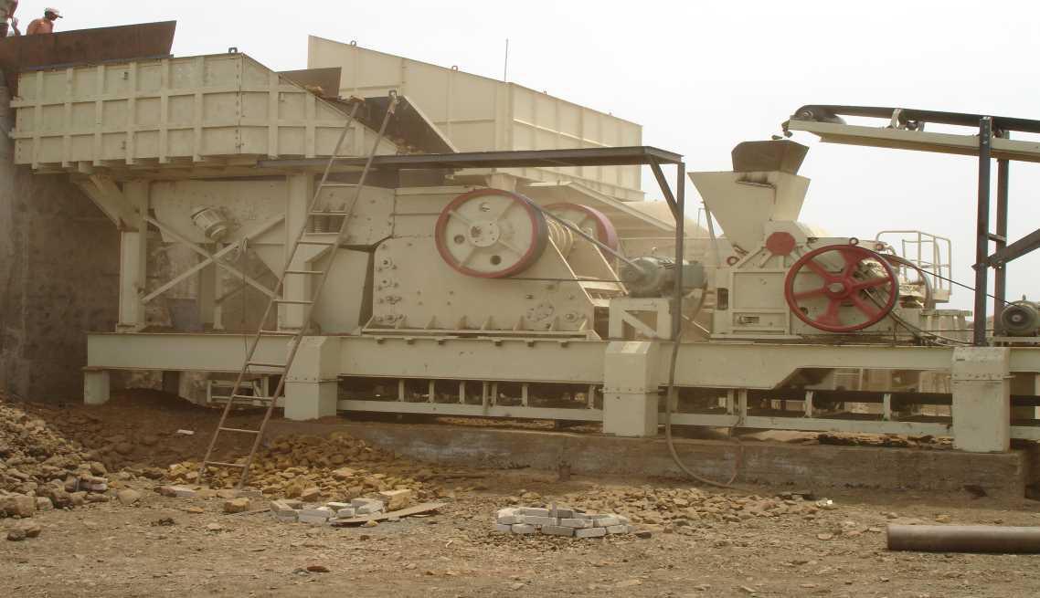 Stationary Crushing & Screening Plant
